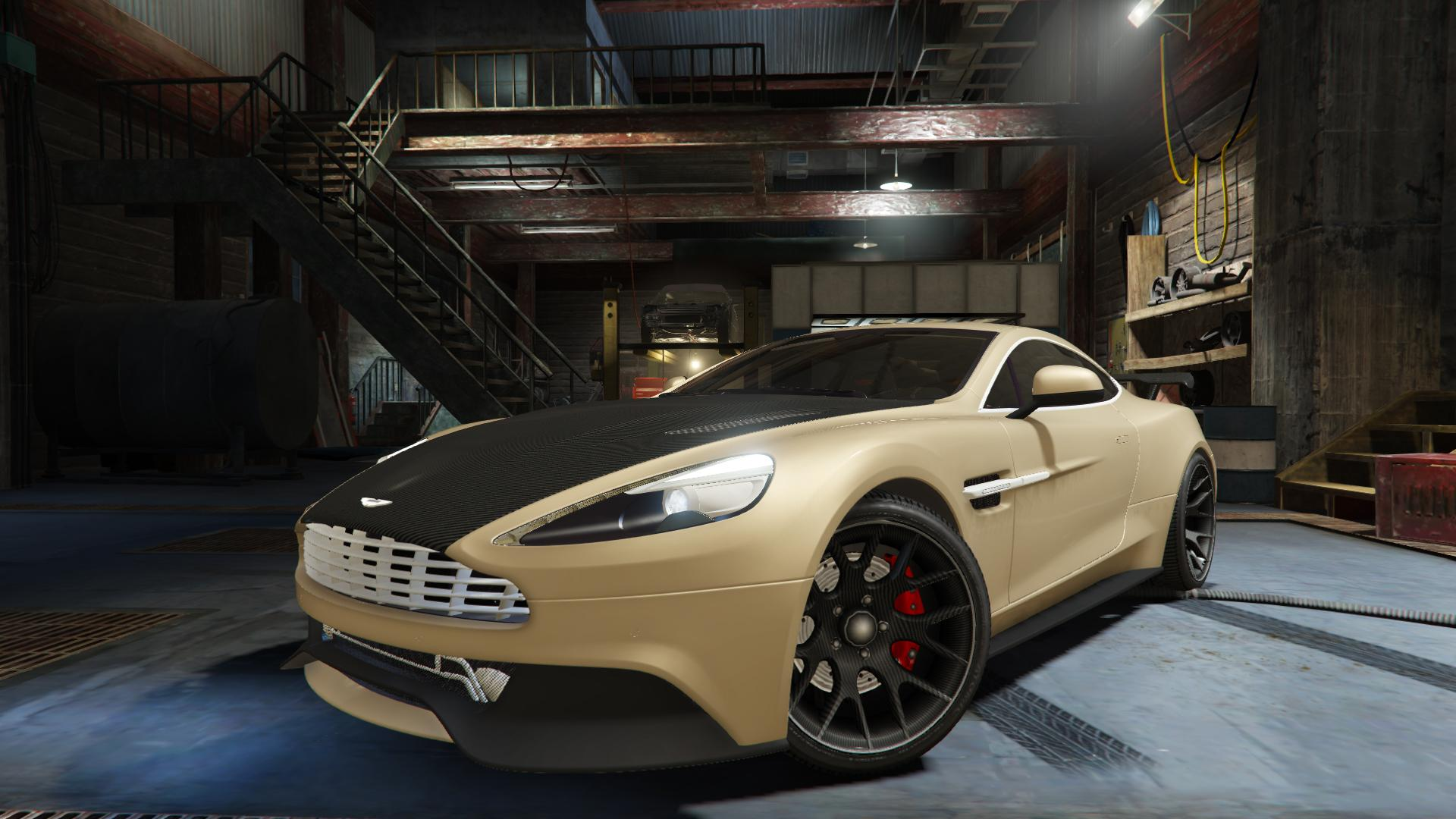 Aston Martin Vanquish V12 2015 Tuning Gta5 Mods Com
