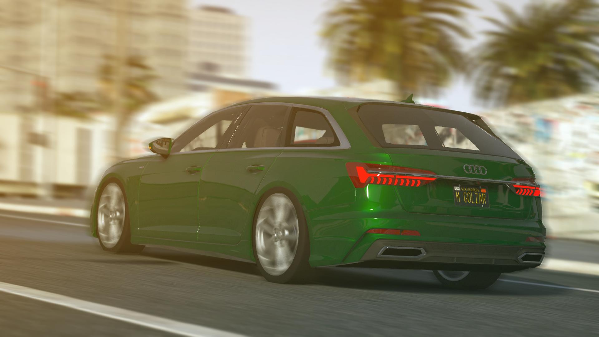 Audi A6 Avant 2019 Add On Replace Gta5 Mods Com