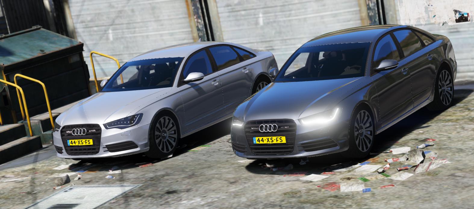 Audi A6 c7 Politie Arrestatieteam V2 - GTA5-Mods com