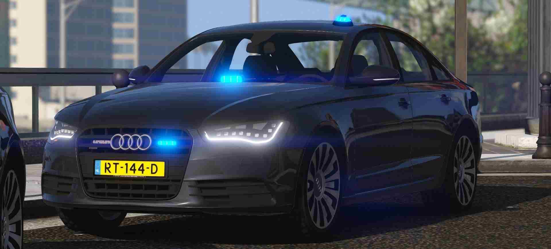 Audi A6 c7 Politie Arrestatieteam - GTA5-Mods.com