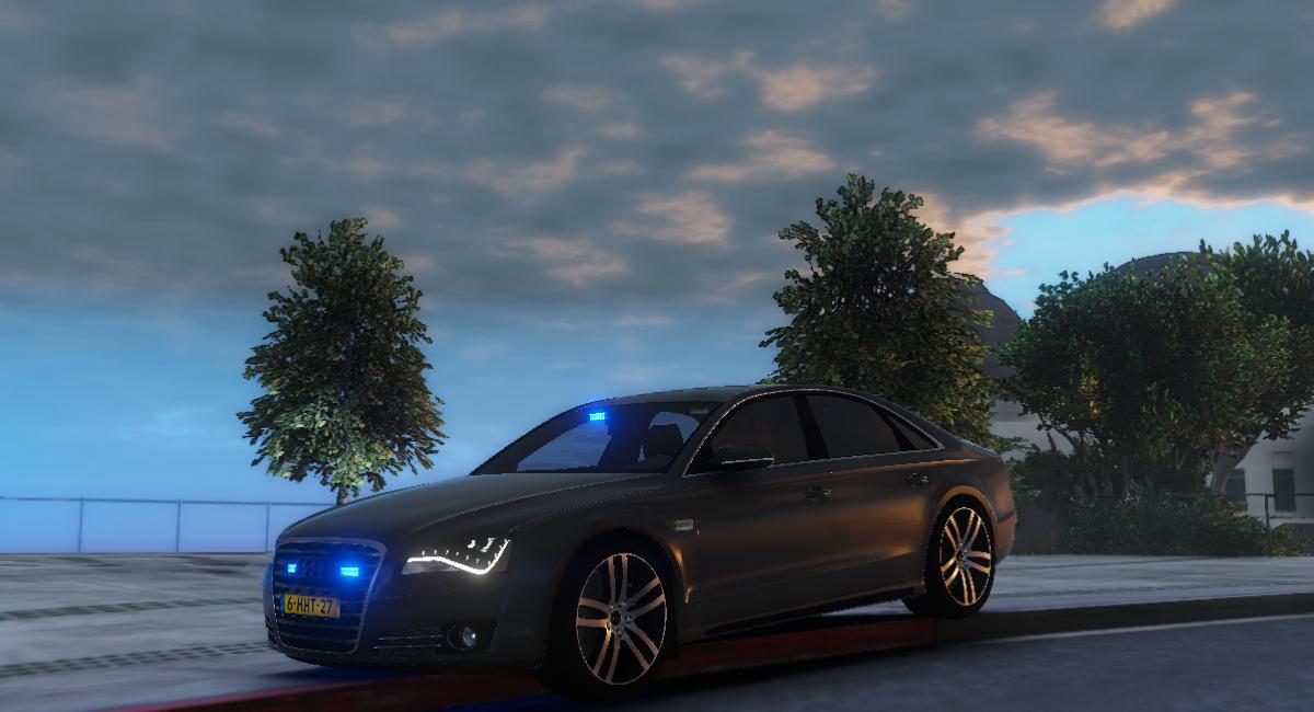 Audi A8 Dutch Fbi Gta5 Mods Com