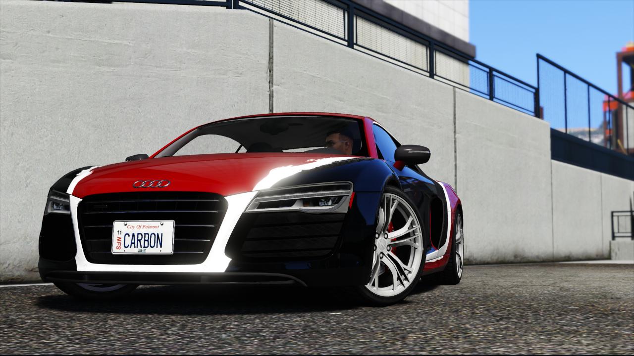 Audi R8 Darius Livery Gta5 Mods Com