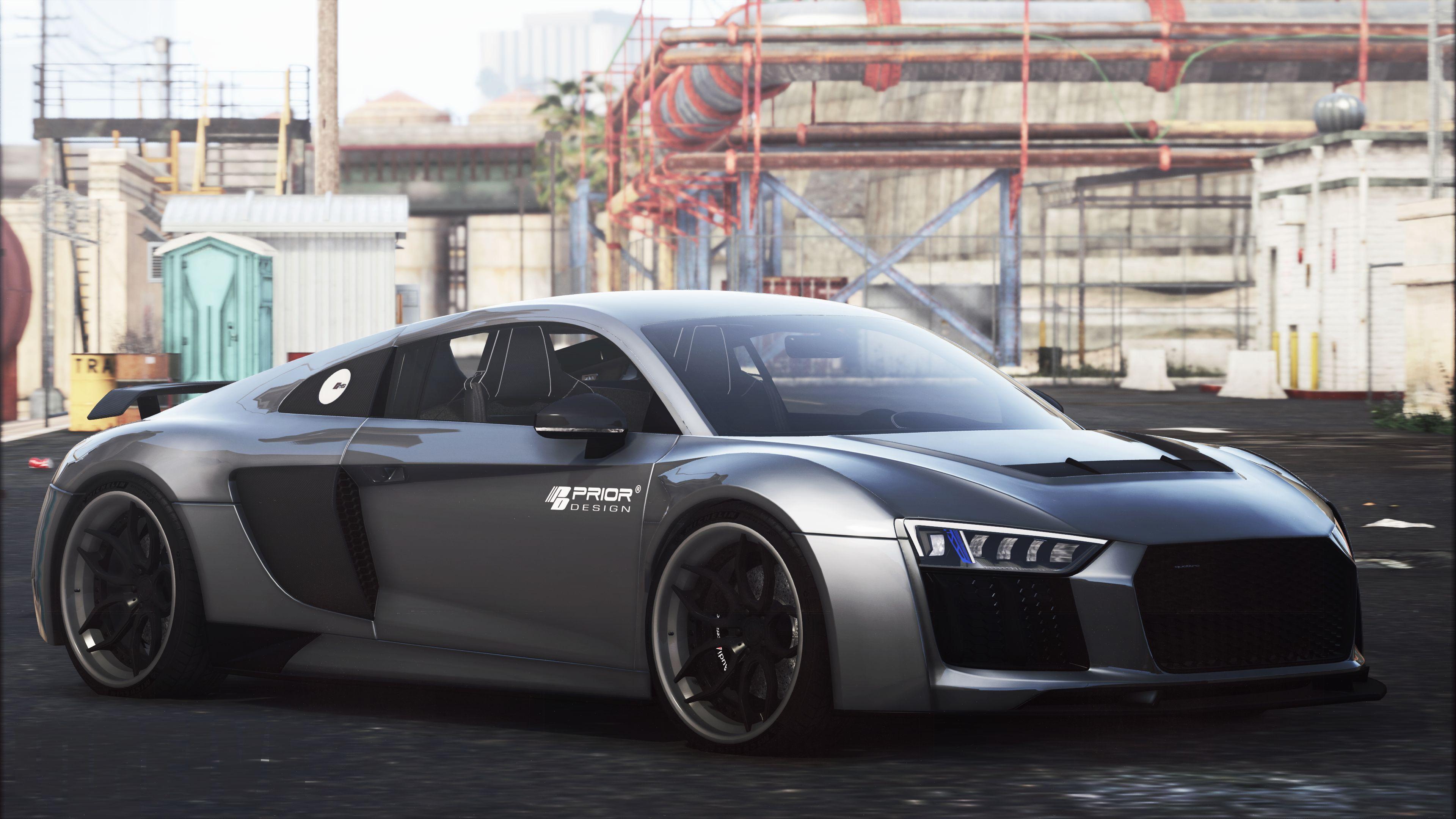 Audi R8 Prior Edition Add On Gta5 Mods Com