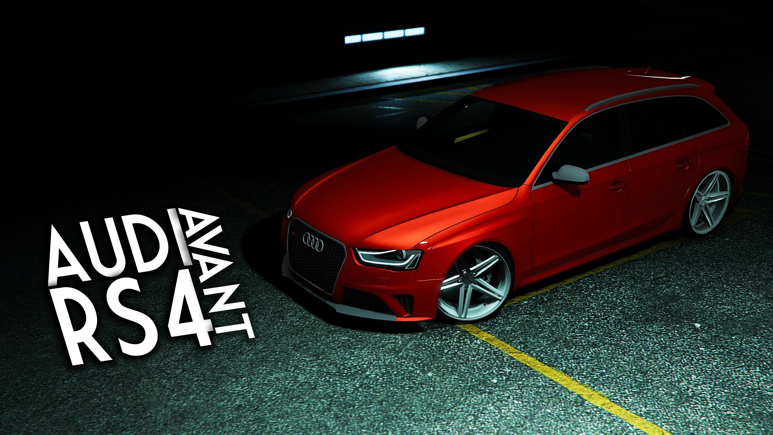 Audi Rs4 Avant Gta5 Mods Com