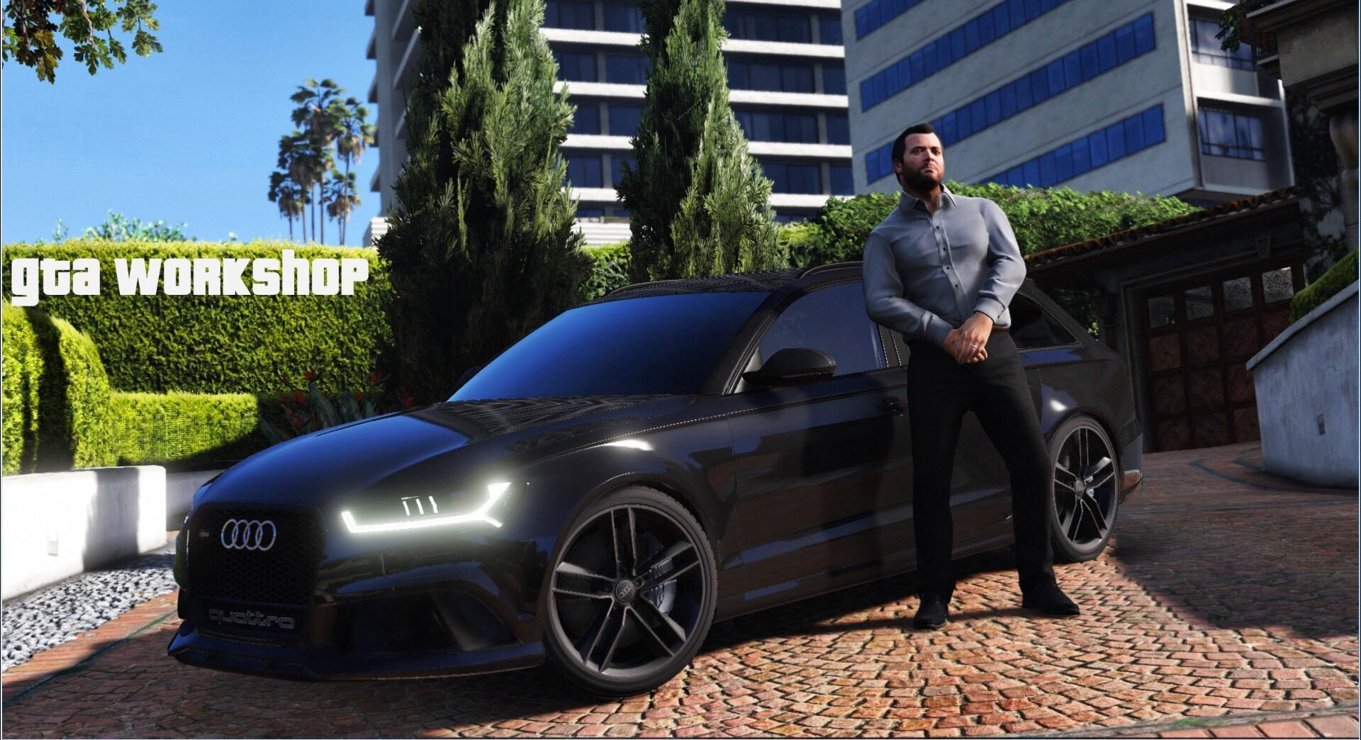 Audi RS6 2015 Quattro Handling + Engine Sound Swap - GTA5-Mods com