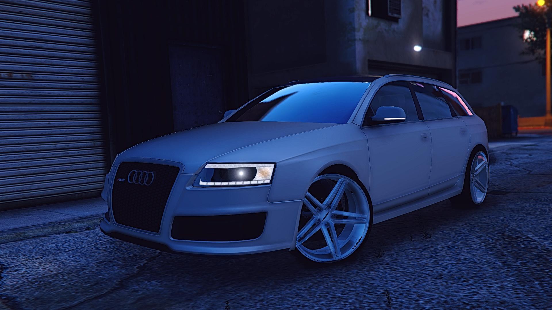 Audi Rs6 Avant 2007 Gta5 Mods Com
