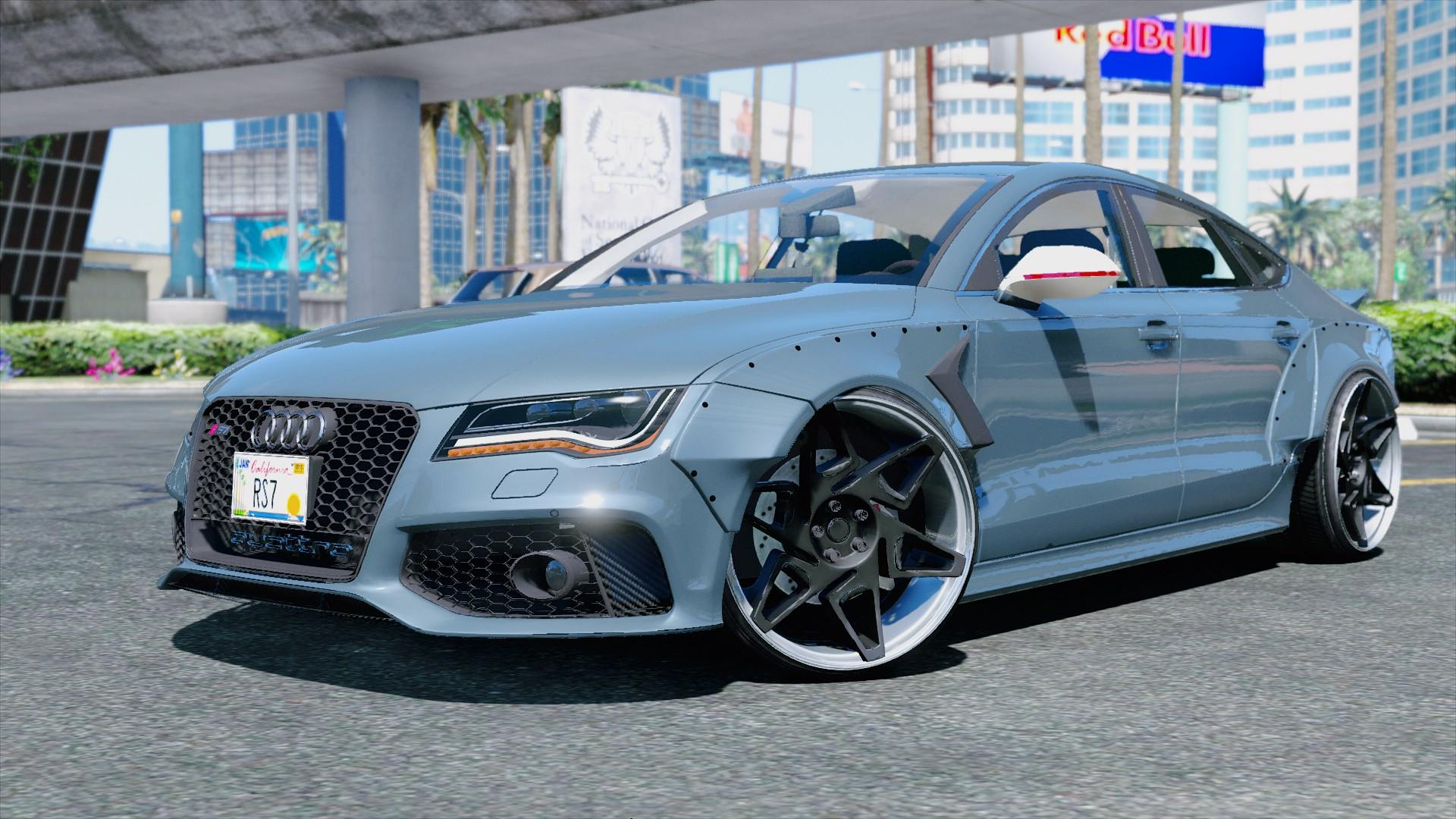 Mitsubishi Eclipse 2015 >> Audi RS7 X-UK - GTA5-Mods.com