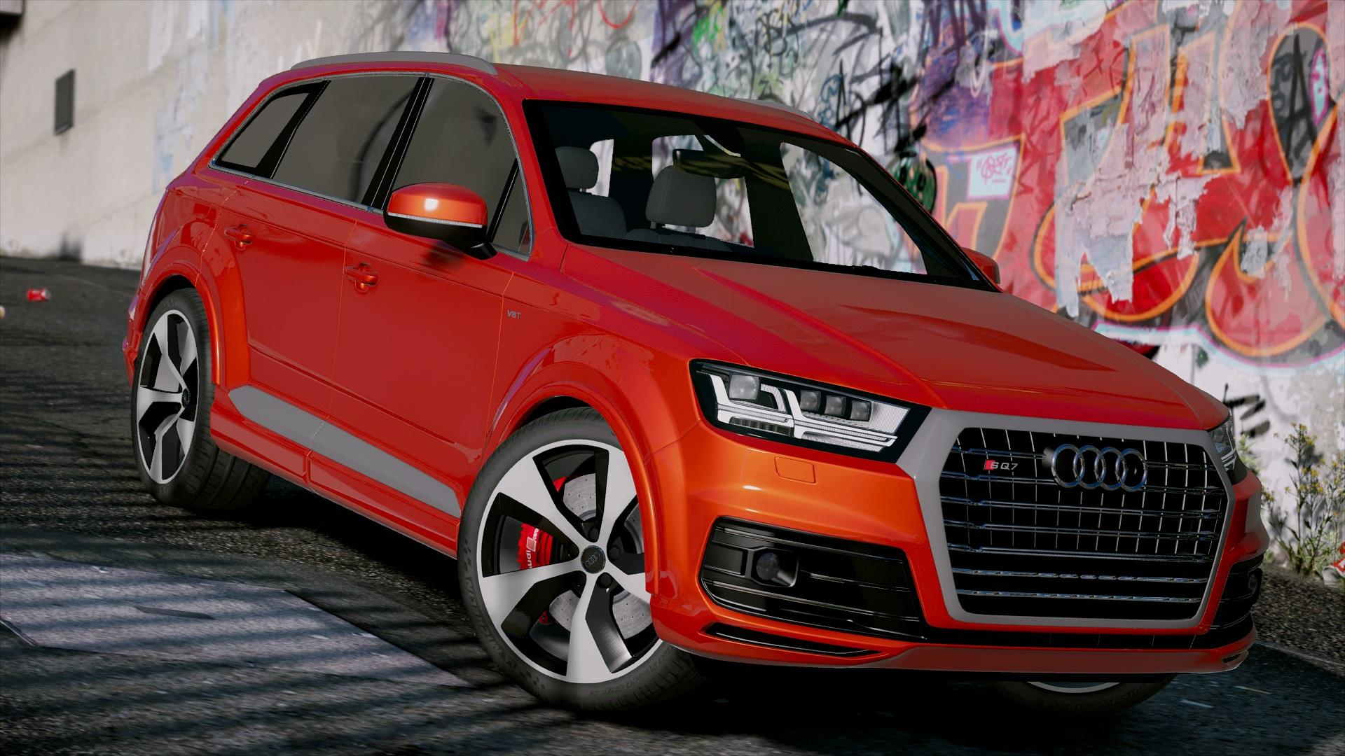 audi sq7 2016 add on gta5. Black Bedroom Furniture Sets. Home Design Ideas