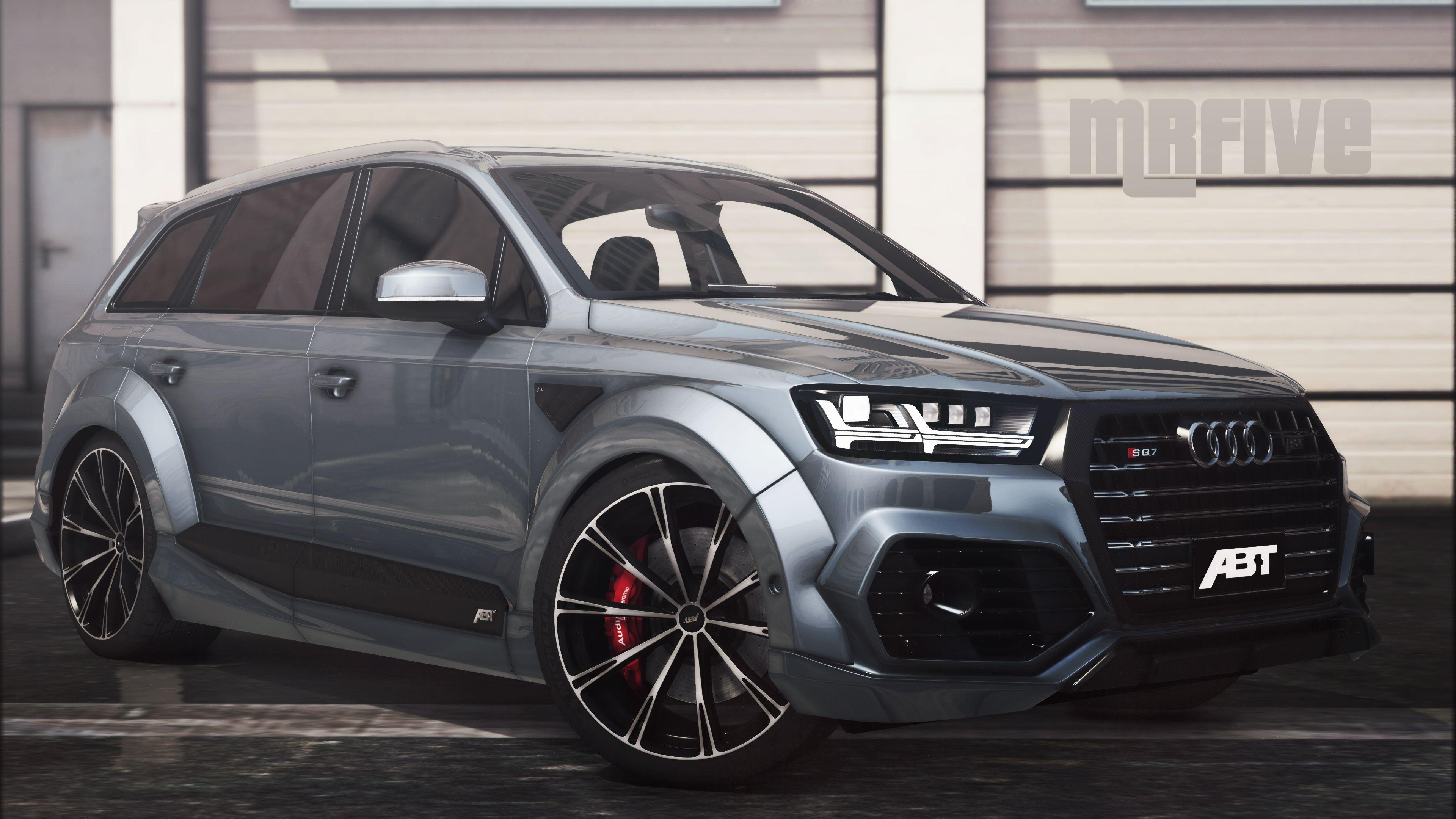 audi sq7 2016 add on abt tuning gta5