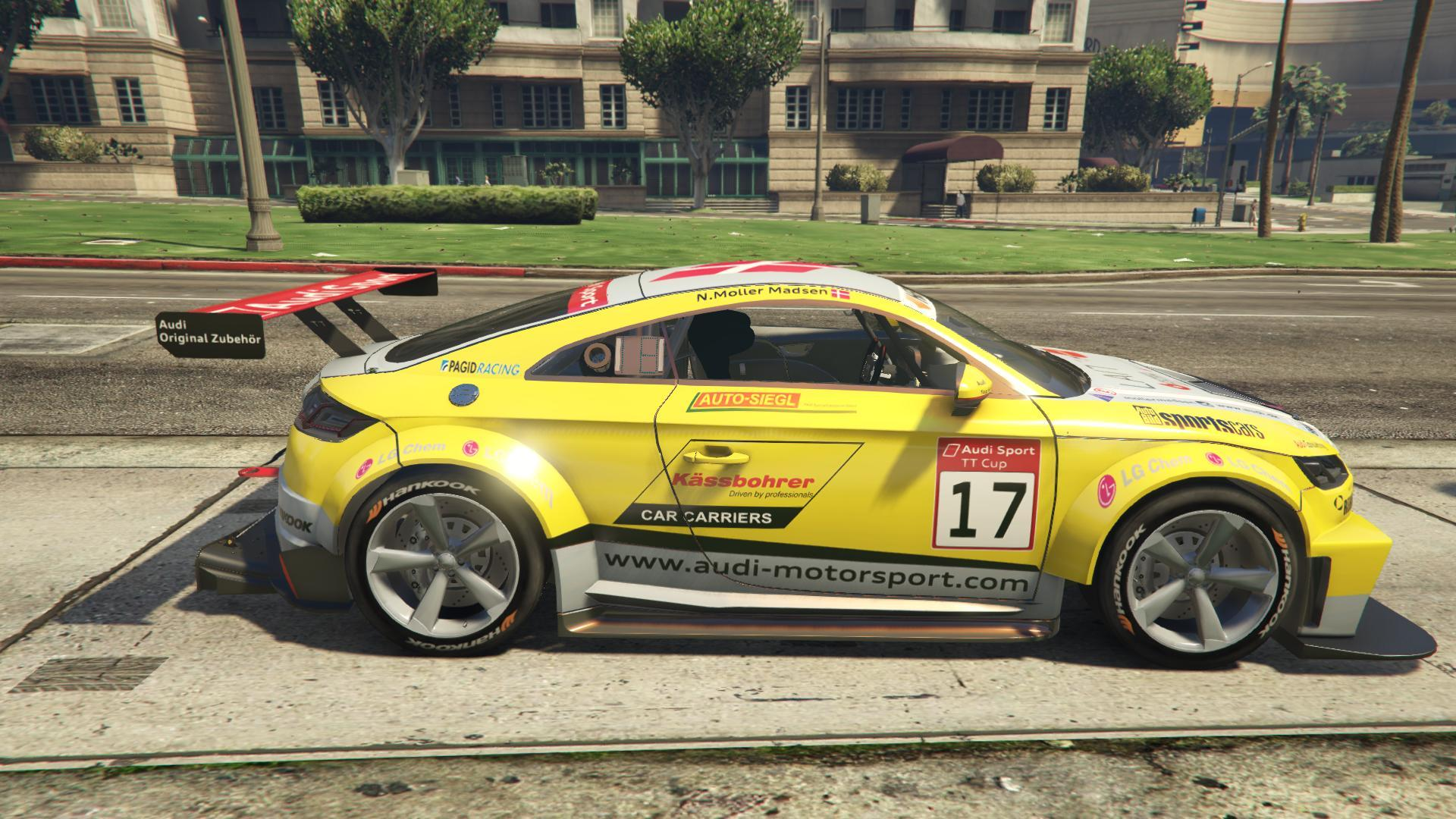 2015 audi tt cup add on replace livery gta5. Black Bedroom Furniture Sets. Home Design Ideas