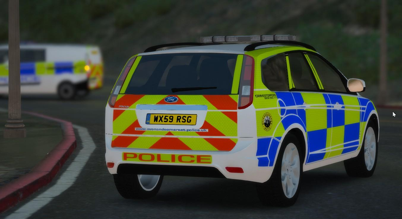 Avon And Somerset Police Ford Focus Estate  Replace