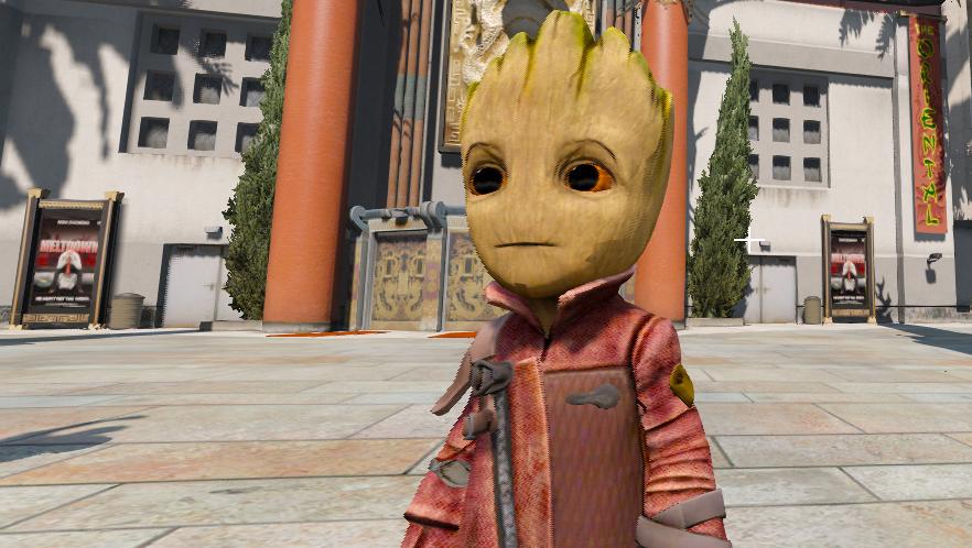 Baby Groot [Add-On ped] - GTA5-Mods com