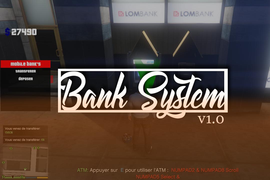 Bank System - GTA5-Mods com