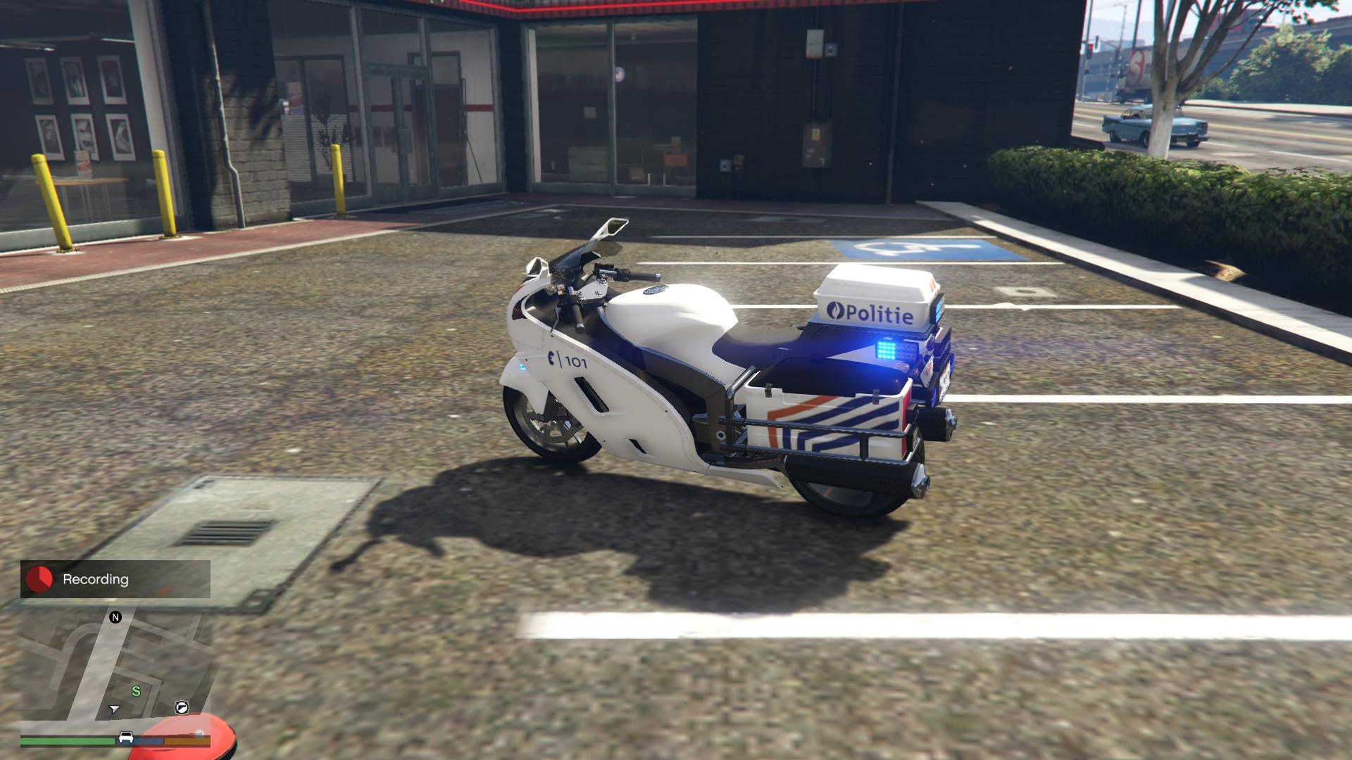 Belgian Federal And Military Motorcycle Police 4k Gta5