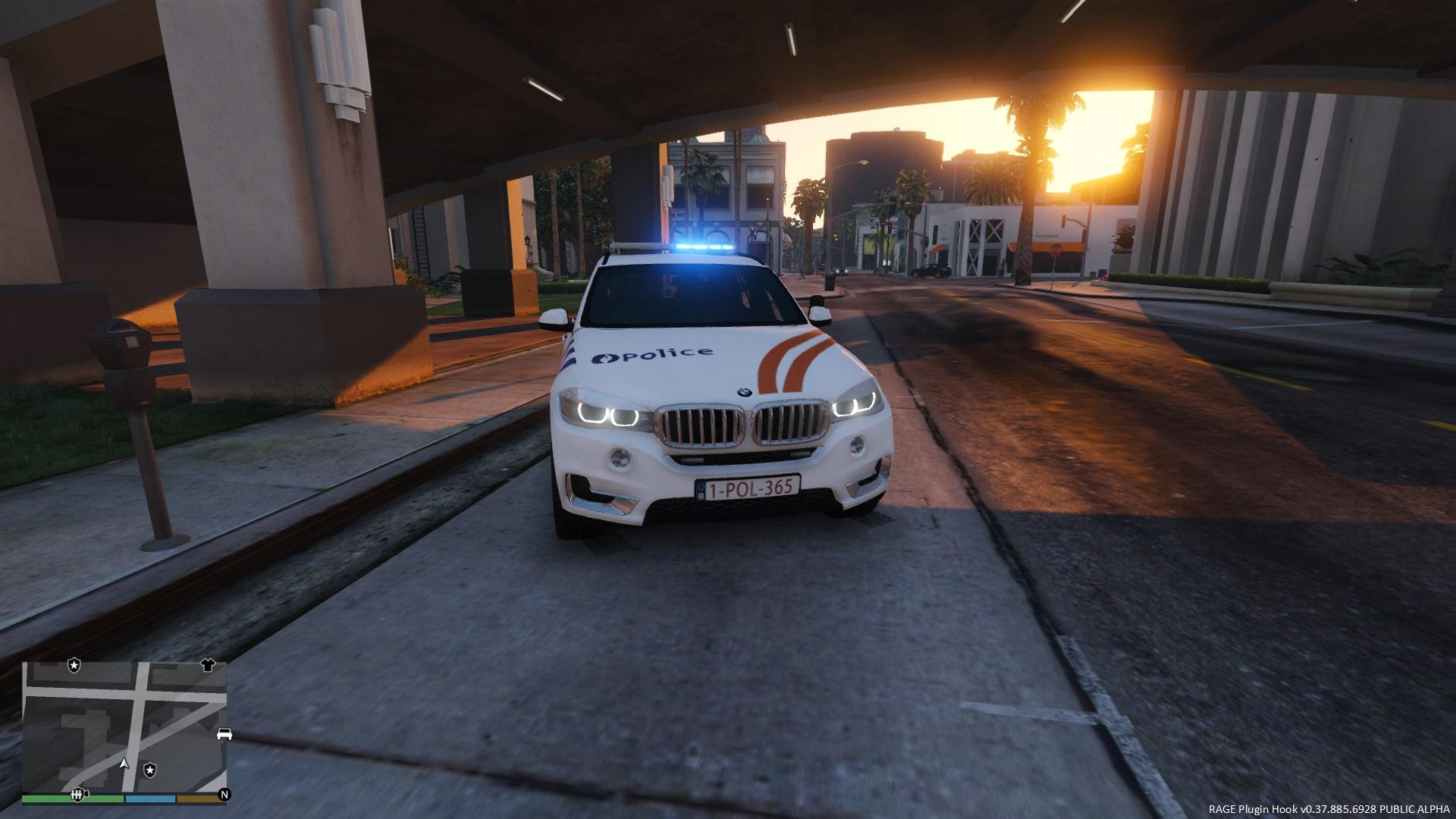 Belgium BMW X5 Police de la route - GTA5-Mods.com