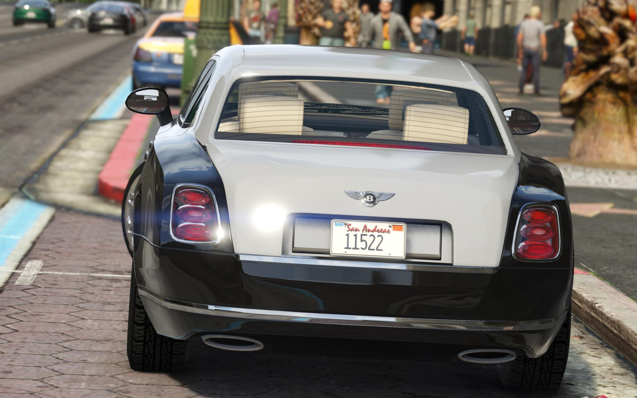 Bentley Mulsanne Mulliner 2013 [Add-On / Replace] - GTA5 ...