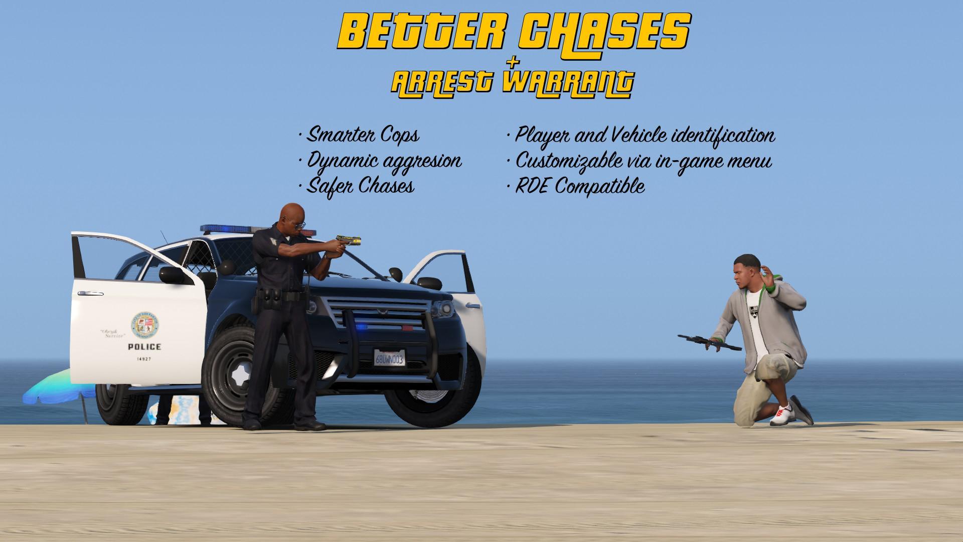 Better Chases + Arrest Warrant - GTA5-Mods com