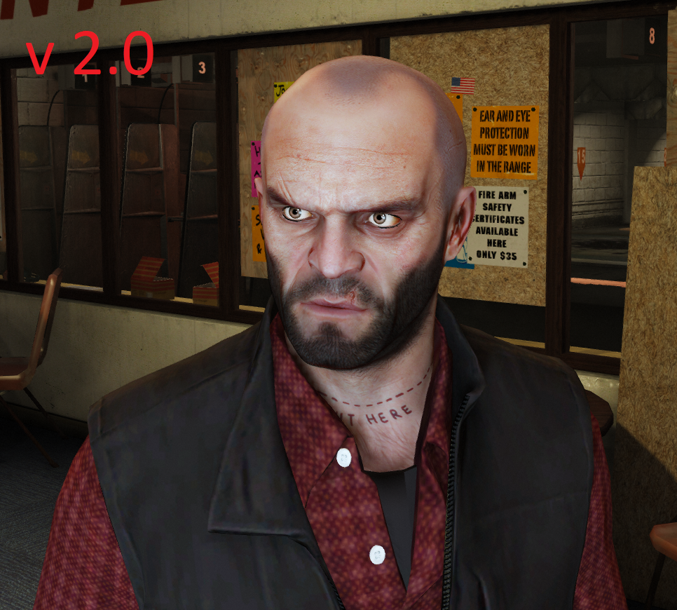 Better T Face, hands, 5-d beard & haircut - GTA5-Mods.com