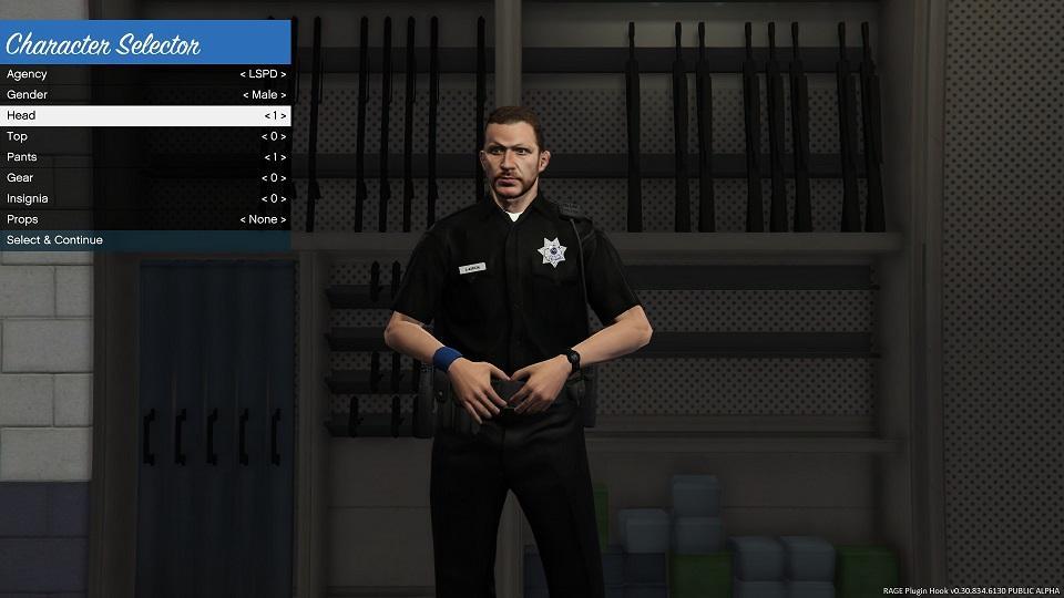 Black Lspd Replacement Peds Gta5 Mods Com