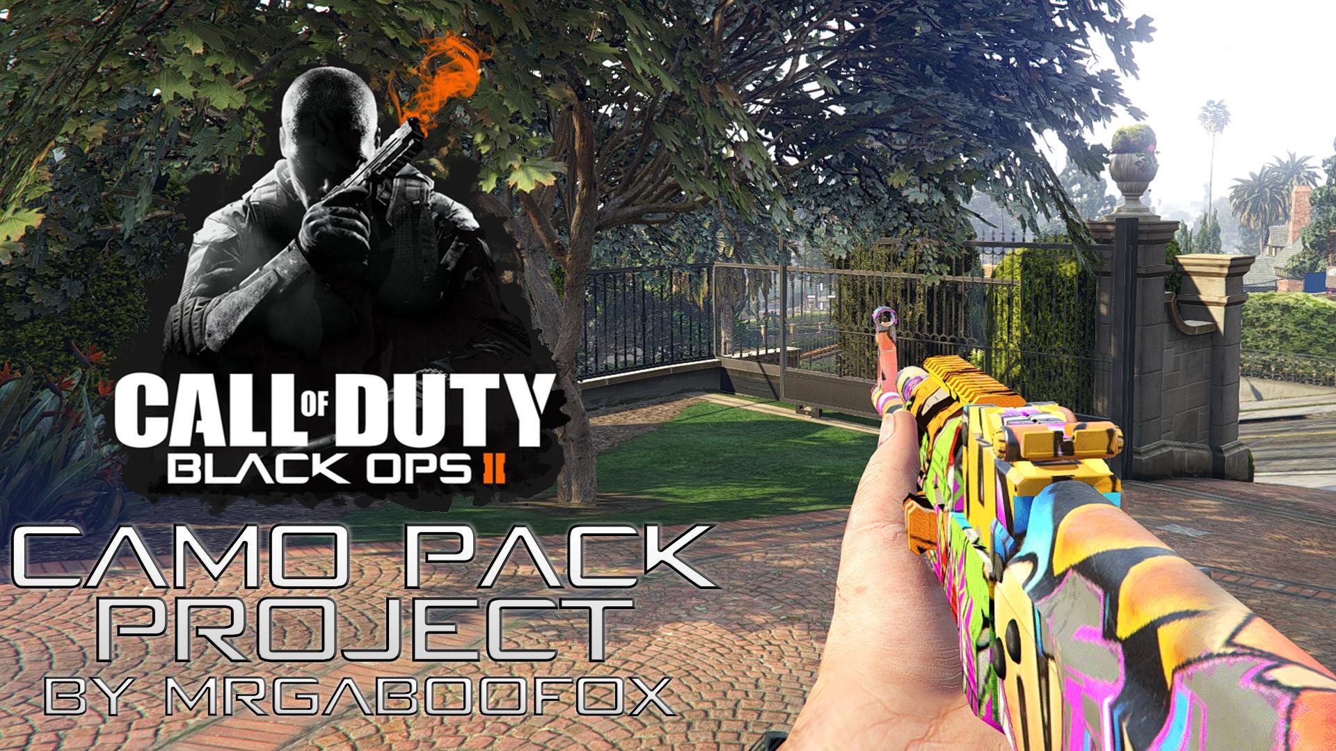Black Ops 2 Camo Pack Project - GTA5-Mods com