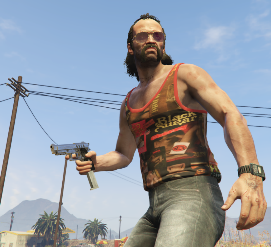 Black Sugar Tank Top Gta5 Modscom