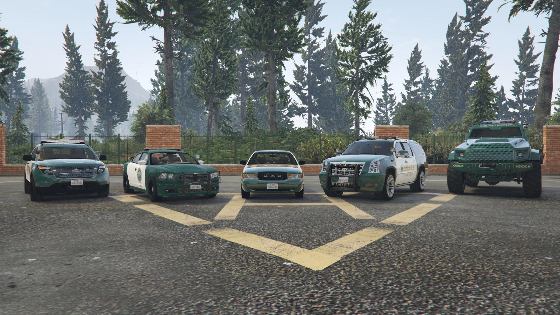 blaine county sheriff vehicle pack winter update gta5. Black Bedroom Furniture Sets. Home Design Ideas