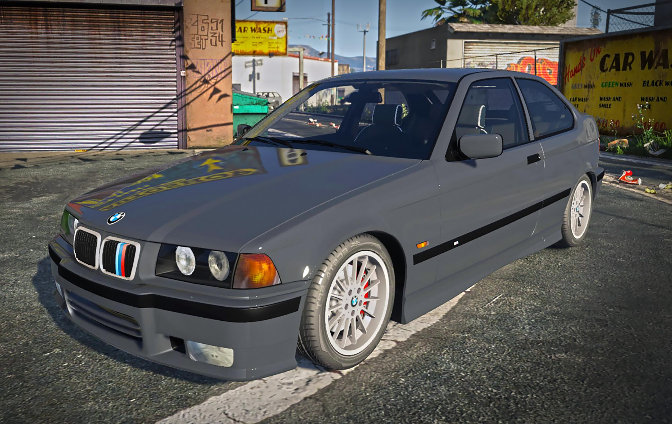 bmw 323ti e36 compact replace add on trailer gta5. Black Bedroom Furniture Sets. Home Design Ideas