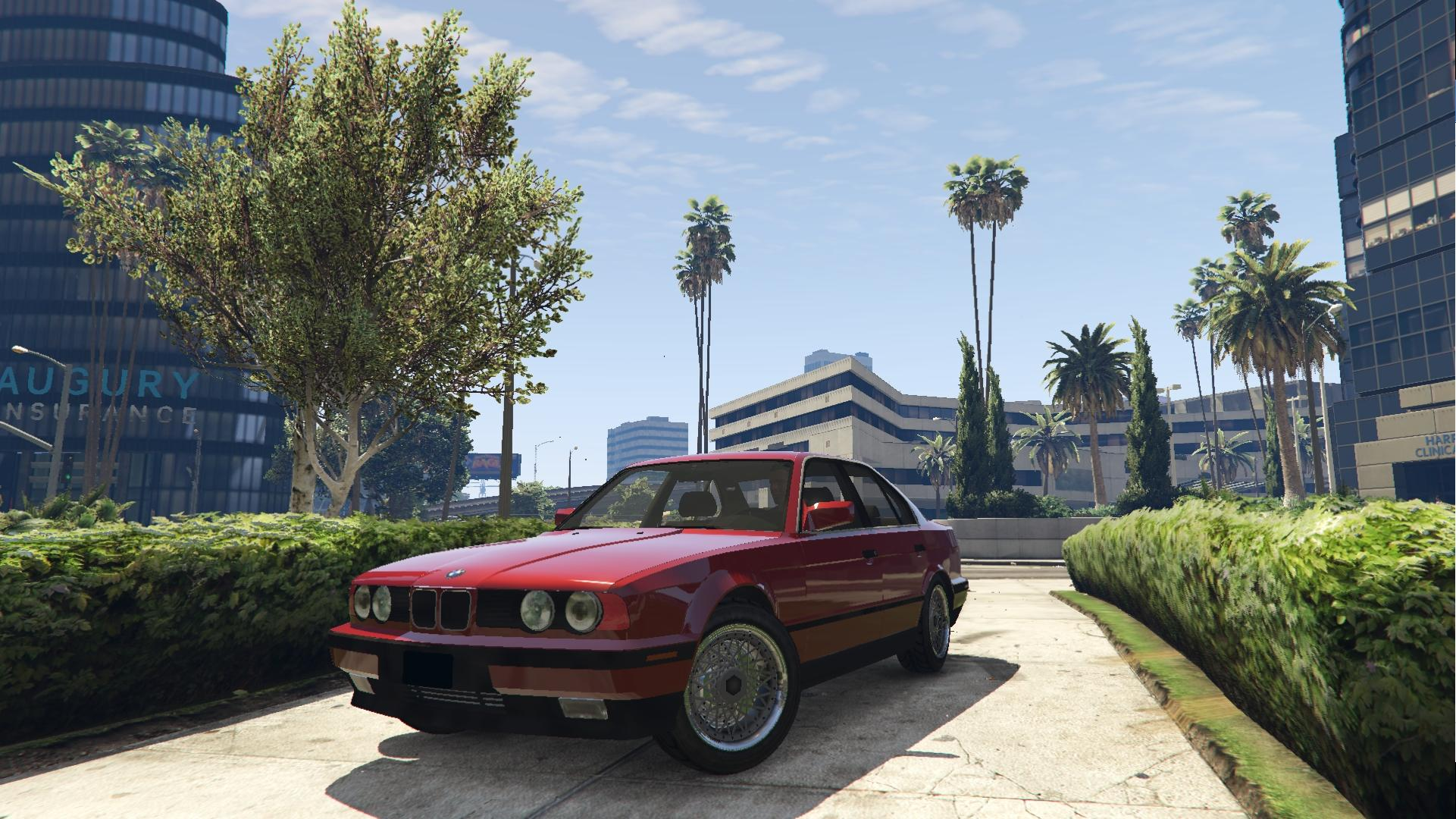 BMW E34 535i  GTA5Mods.com
