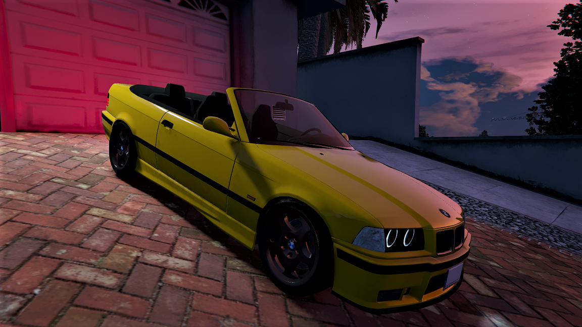 bmw e36 328i m sport cabrio add on gta5. Black Bedroom Furniture Sets. Home Design Ideas