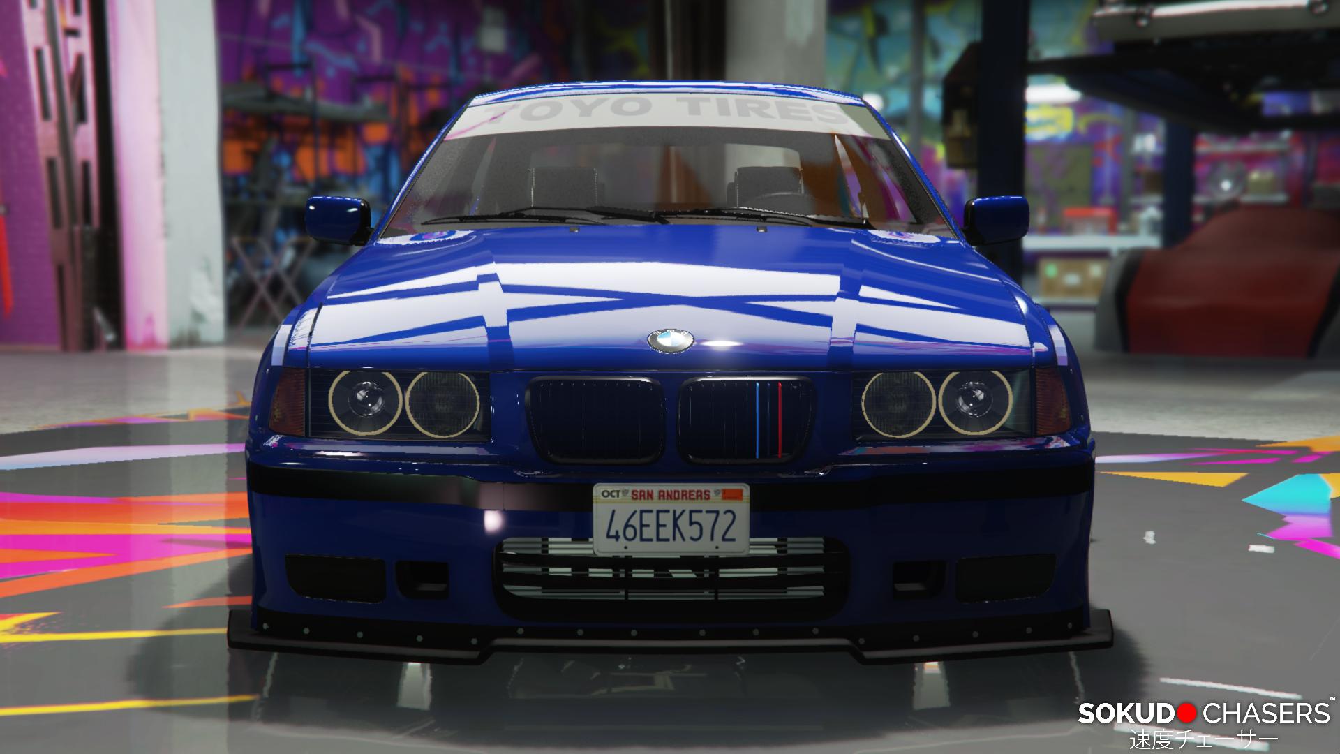 Bmw E36 Compact Pandem - GTA5-Mods.com