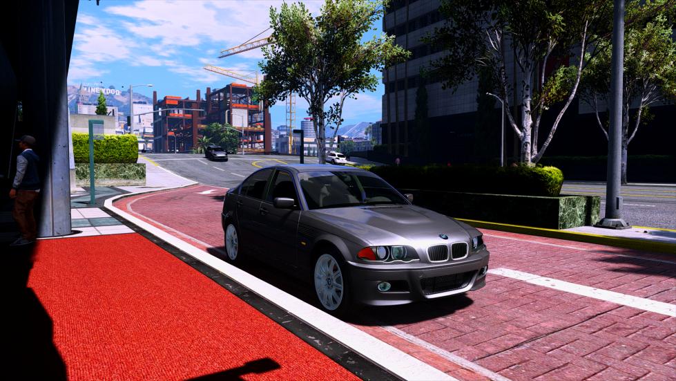 BMW E46 Sedan  GTA5Modscom