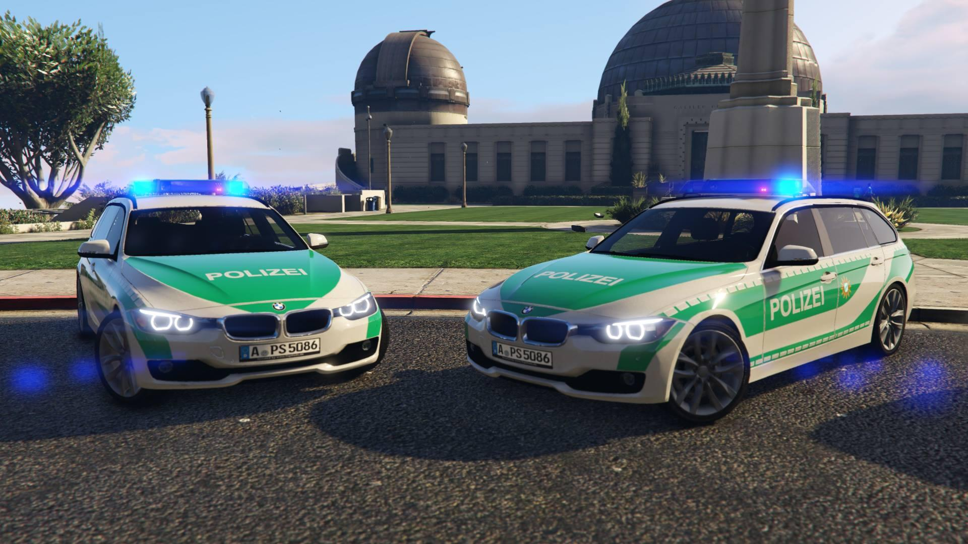 bmw f31 polizei augsburg gta5. Black Bedroom Furniture Sets. Home Design Ideas