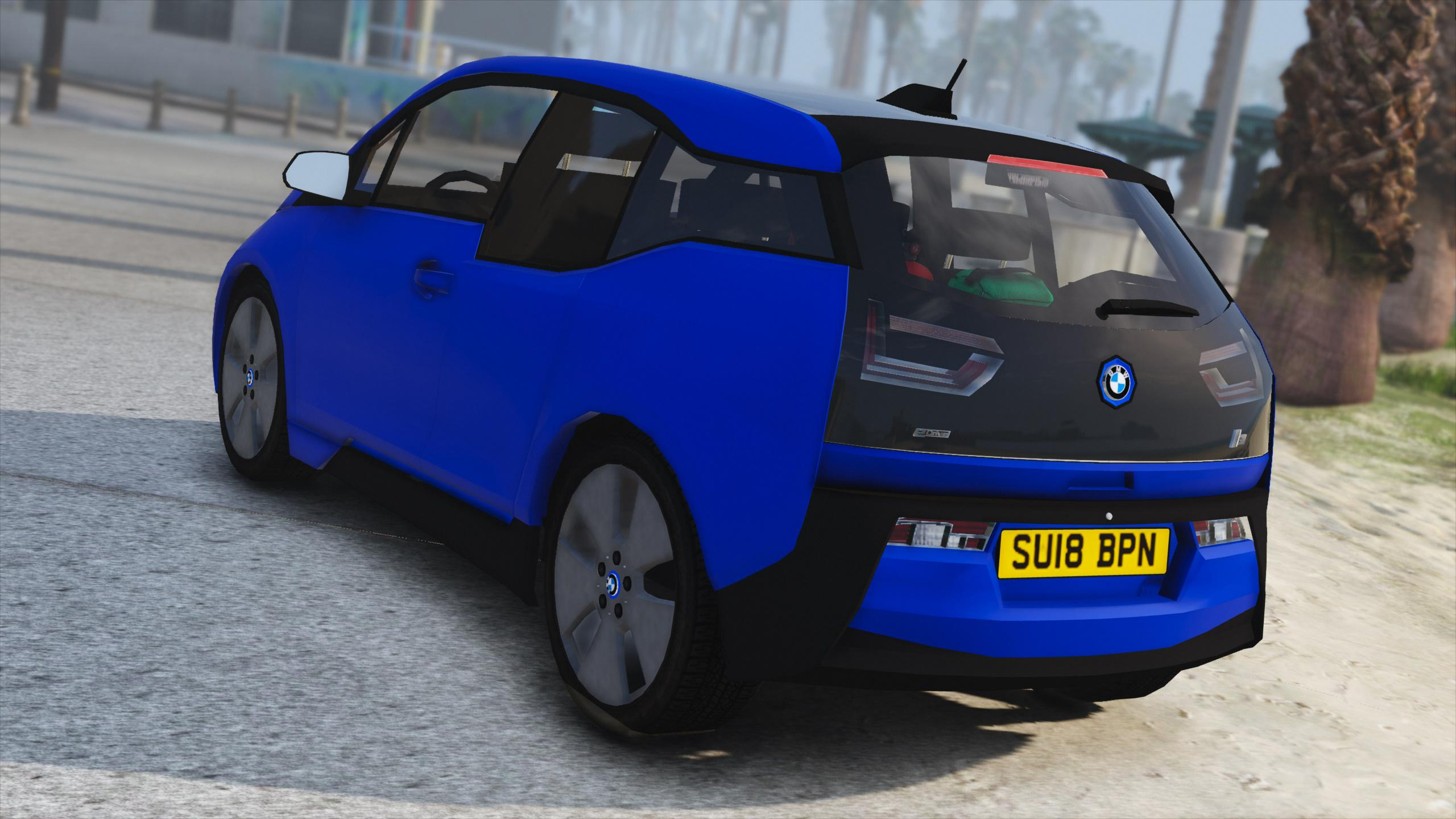 bmw i3 unmarked generic police car addon replace gta5. Black Bedroom Furniture Sets. Home Design Ideas