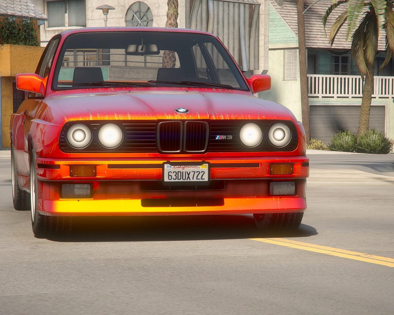 Bmw M3 E30 1990 Add On Tuning Template Gta5 Mods Com