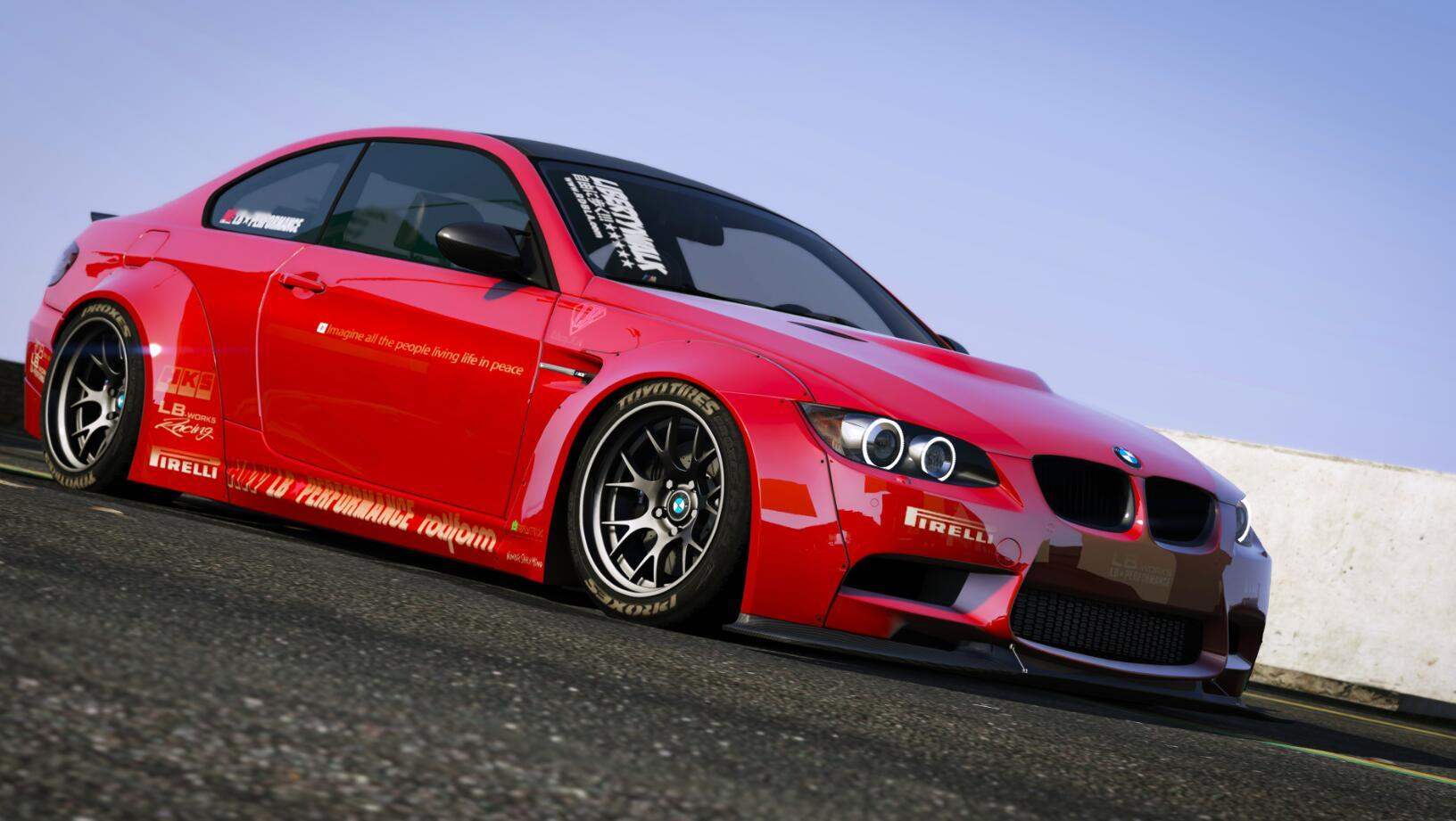 bmw m3 e92 liberty walk 2010 gta5. Black Bedroom Furniture Sets. Home Design Ideas
