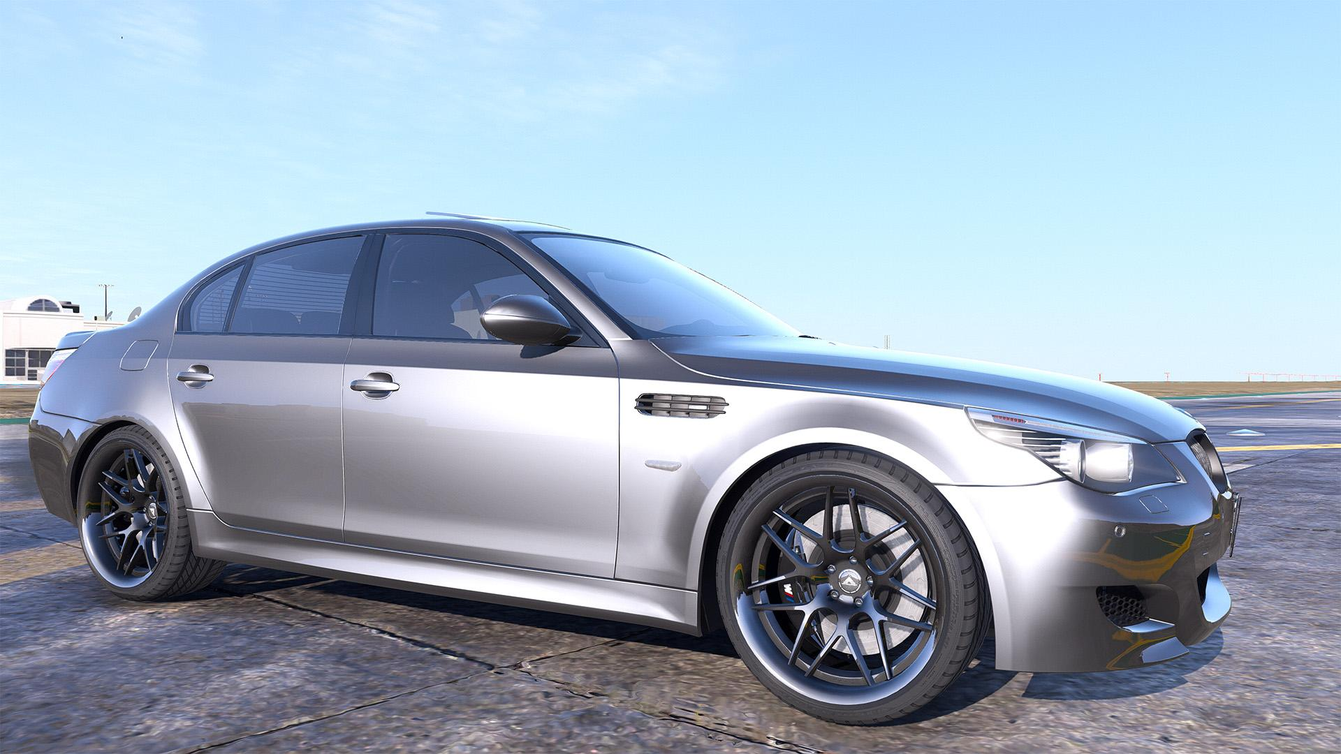 bmw m5 e60 add on replace animated template gta5. Black Bedroom Furniture Sets. Home Design Ideas
