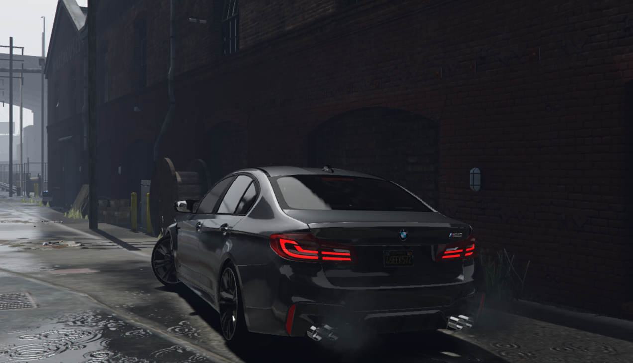 2018 bmw m5 f90 add on tuning template hq gta5. Black Bedroom Furniture Sets. Home Design Ideas