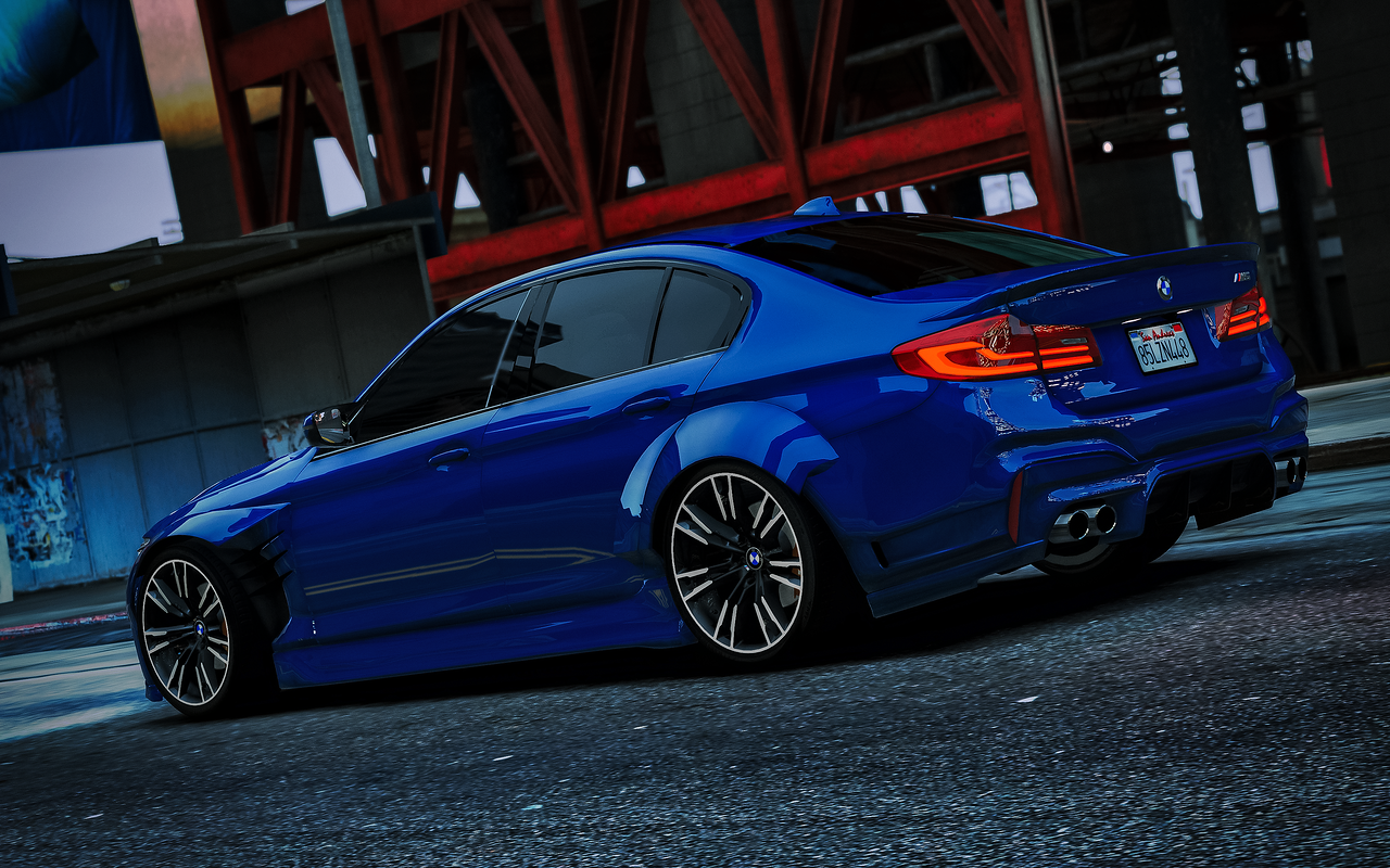 Bmw M5 F90 2018 Libertywalk Stock Add On Gta5 Mods Com