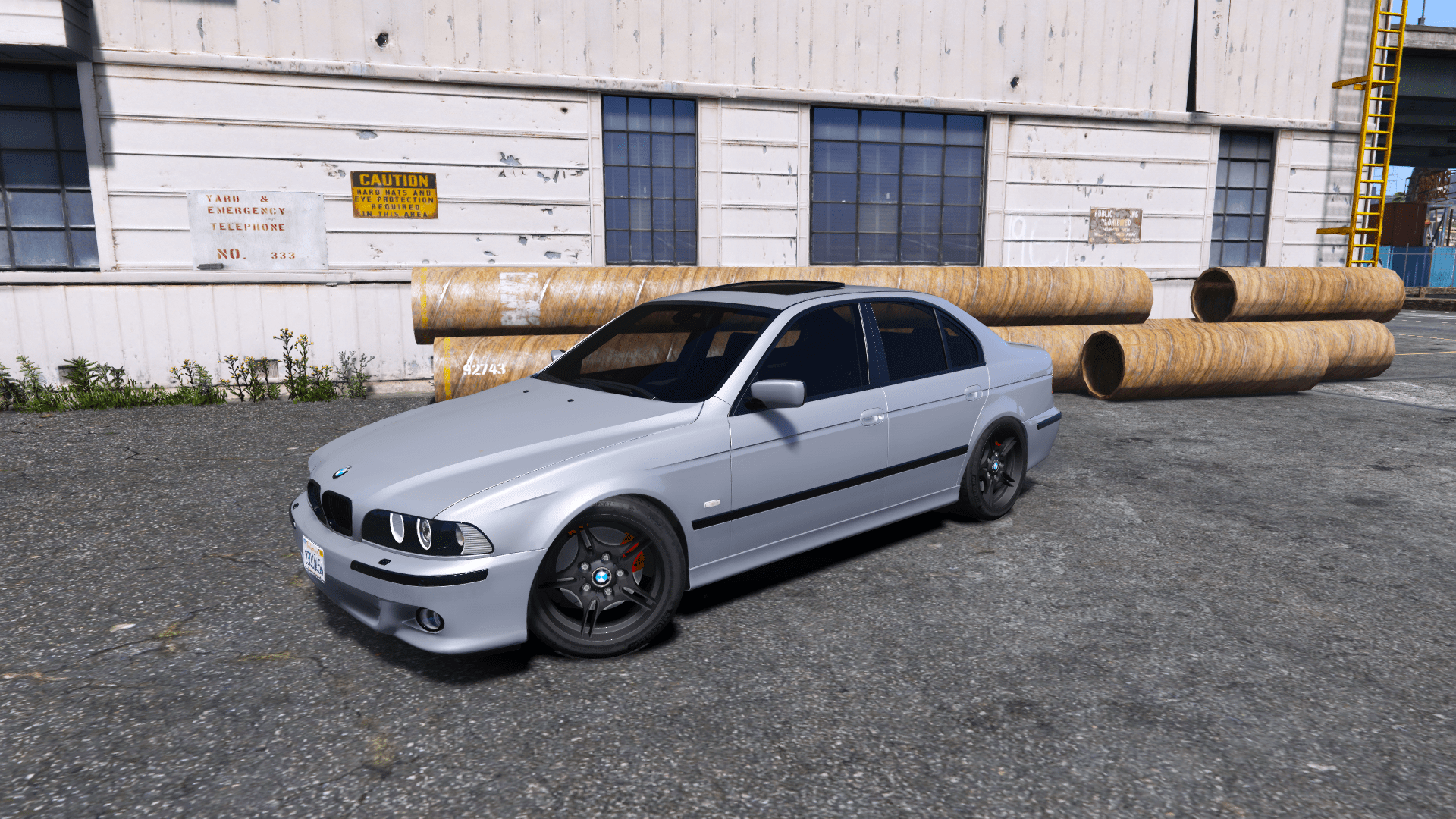 Bmw Mtech E39 530d Add On Replace Gta5 Modscom