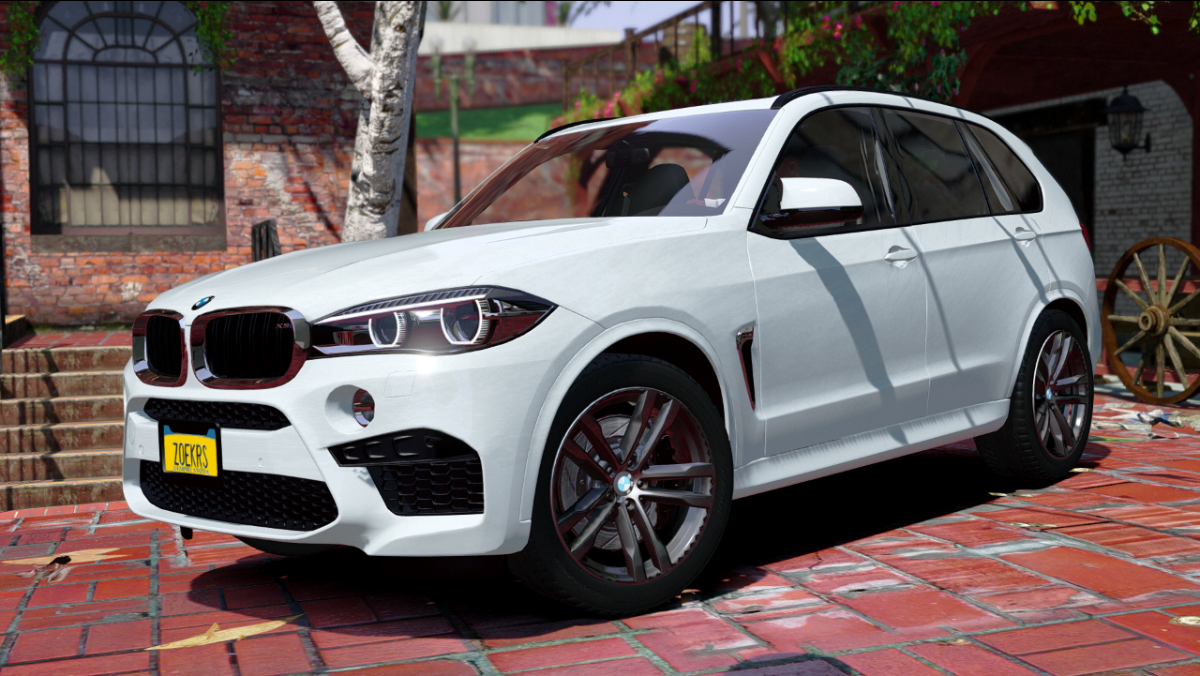 Bmw X5m 2017 Replace Gta5 Mods Com