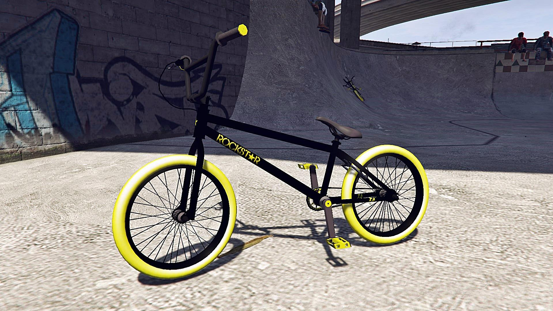 Bmx Rockstar Energy [Addon / Replace] - GTA5-Mods.com