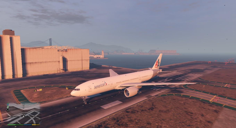 Boeing 777 200 American Airlines Retexture Gta5 Mods Com
