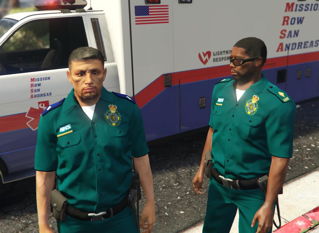 LILLY: Paramedic uniform