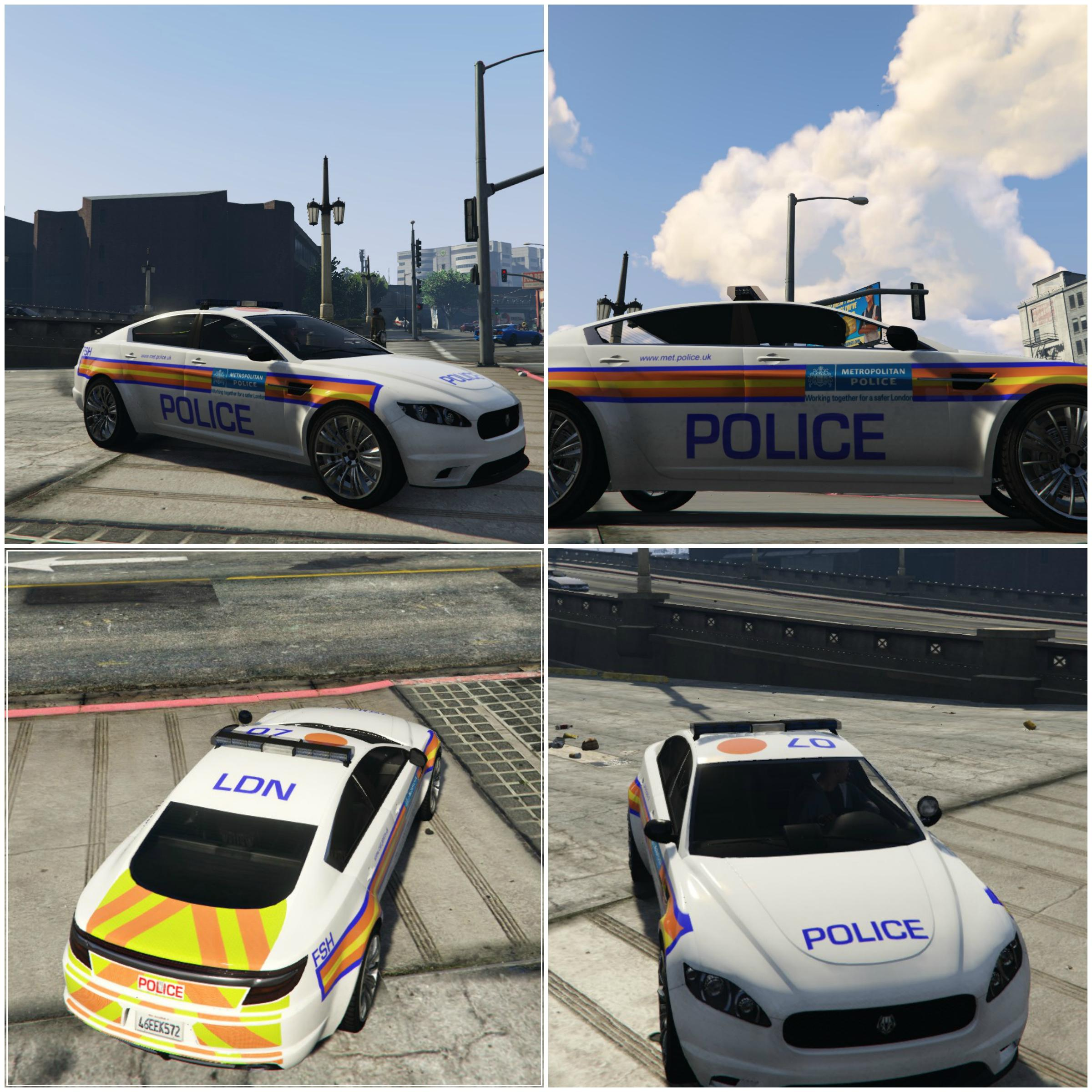 "Britsh Police ""Jam Sandwich"" Skin"
