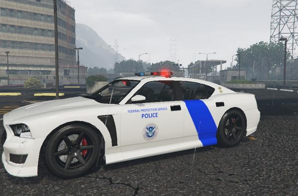 Buffalo S Federal Protection Police - GTA5-Mods com