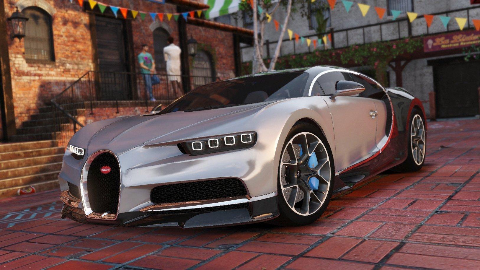 Bugatti Chiron [Replace]