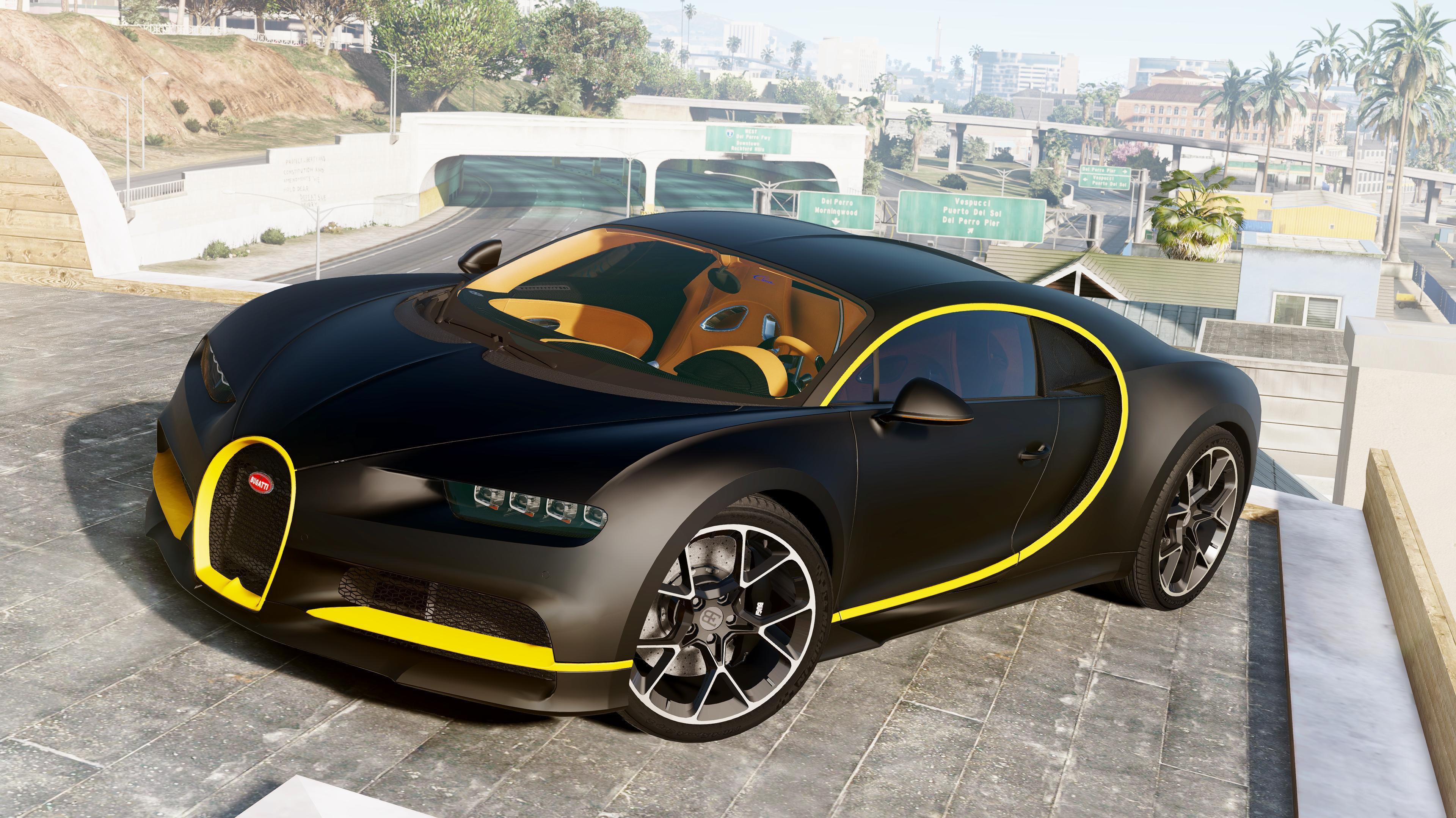2017 Bugatti Chiron Analog Digital Dials Livery Gta5