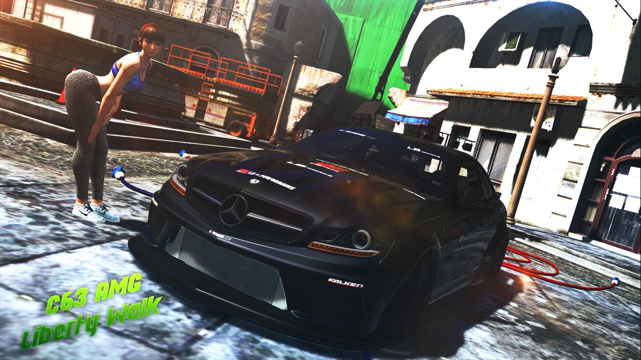 C63 AMG Livery Liberty Walk - GTA5-Mods com