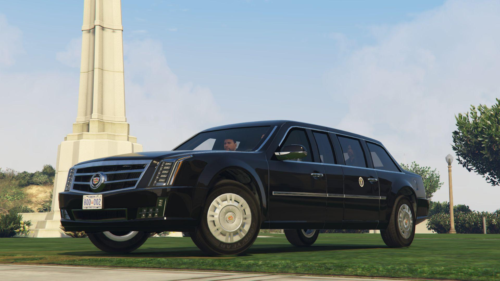 cadillac the beast presidential state car add on. Black Bedroom Furniture Sets. Home Design Ideas