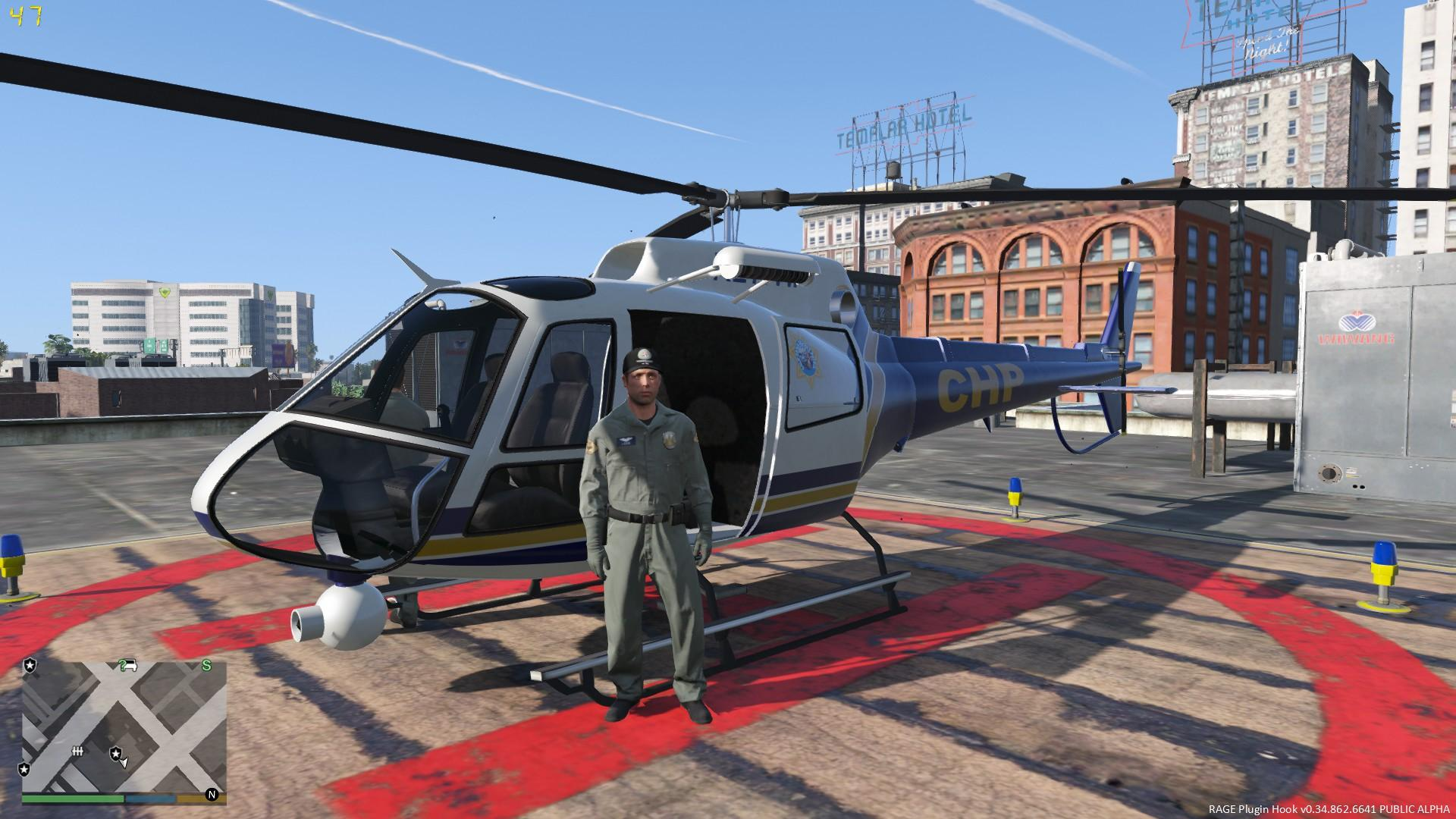 Elicottero Gta 5 : California highway patrol helicopter chp gta mods